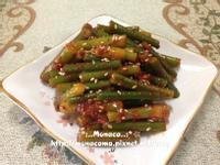 韓式涼拌辣醬蒜苔마늘쫑고추장무침