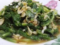 蝦皮炒本島萵苣(A菜)
