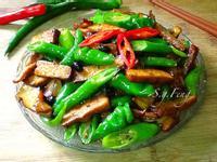 糯米椒炒豆干