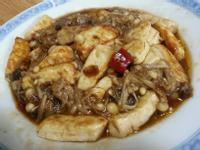 金針菇拌炒豆鼓香豆腐~~^-^(素食)