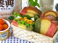 彩虹三明治【麥典麵包專用粉】