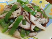 香菇炒青椒