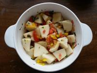 ▍低GI排毒 ▍涼拌竹筍佐塔香莎莎醬