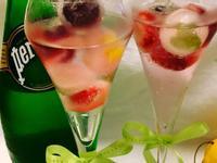 夏日莓果薄荷檸檬汽泡冰飲