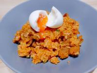韓式溫泉蛋炒飯