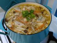百菇竹筍湯(羹)