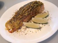 法式香蒜鮭魚