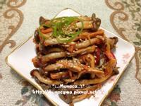 韓式涼拌醋辣秀珍菇느타리버섯초무침