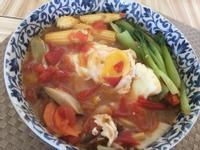 平底鍋電磁爐一鍋到底-番茄湯麵🍅