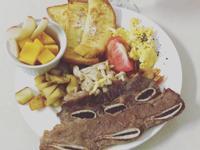早午餐-法式吐司之牛小排套餐💕