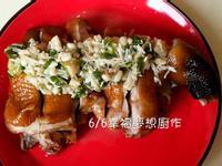 紅燒蔥油金菇雞