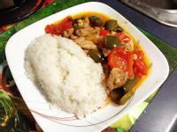 輕鬆上手💪🏼青椒辣子雞丁燴飯