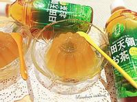 寒天梅子綠茶凍【日田天領水】八女茶