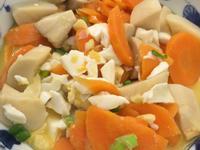超級下飯的鹹蛋杏鮑菇