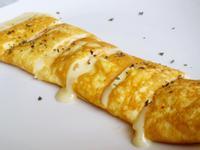 嫩煎玉子燒(低脂少油起司煎蛋捲)