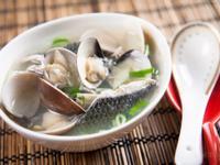 魚皮蛤蠣湯@Selina Wu
