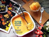 芒果優格冰-2種食材就搞定