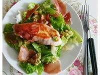 雞胸肉釀墨西哥酪梨沙拉醬沙拉