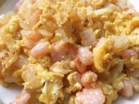 洋蔥蝦仁炒蛋