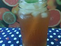 夏天簡單美味冰飲-低糖鳳梨冰茶