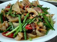 沙茶炒魷魚
