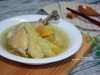 鹹鳳梨苦瓜雞湯