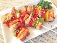 低卡彩椒雞肉串【大同複合料理無水鍋】