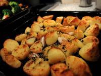外脆內香的烤馬鈴薯