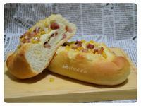 培根玉米麵包