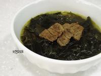 韓式牛肉海帶湯—소고기미역국