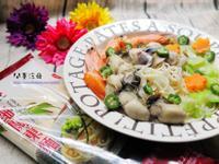 絲瓜海鮮拉麵 - 五木拉麵