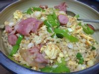 培根青椒蛋炒飯