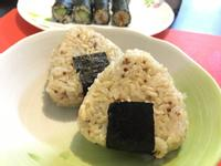 紅藜鮪魚三角飯糰
