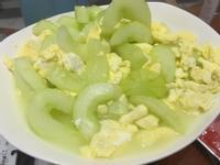 媽媽的味道~大黃瓜炒蛋
