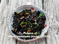韓式涼拌海苔김무침