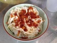偽火雞肉飯(油蔥酥雞絲飯)