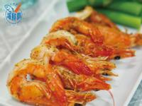 海鮮霸-烤鮮蝦佐蜂蜜芥末醬