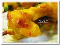 [提姆士食譜] 南洋風烤沙嗲雞肉串燒