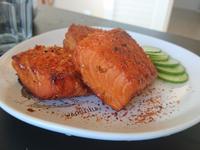 日式味增烤鮭魚
