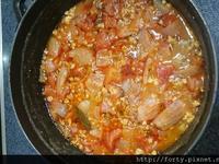 【無水鑄鐵鍋料理】義大利番茄肉醬