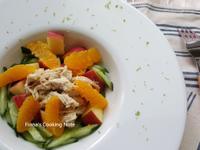 微泰式蔬果雞胸沙拉-3步驟簡單作