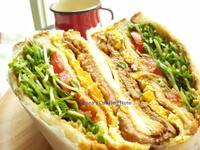 鮮蔬肉蛋吐司(含醃肉配方)