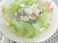 金酒蛤蜊絲瓜春雨湯-38度金門高梁酒