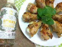 香煎嫩棒棒雞腿-58度金門高粱酒