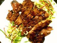 香煎泰式沙嗲雞腿