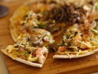 照燒舞菇海鮮燒Pizza