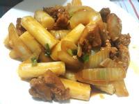 韓式辣炒年糕雞肉