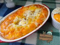 薯泥烤蛋(美味三步驟)