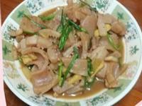 沙茶炒魷魚/38度金門高粱酒