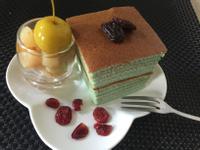 ~蝶豆花千層蛋糕~